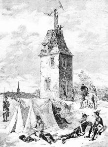 First telegraph, 1794.