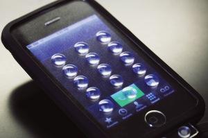 Raised iPhone Display
